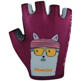Roeckl Trentino Gloves Kids, berry